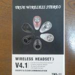 【人柱レビュー】WIRELESS HEADSET TWS-11【ワイヤレスヘッドセット】