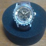 【人柱レビュー】E-seven 腕時計 手巻き機械式 スケルトン【腕時計】