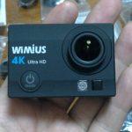 【人柱レビュー】wimius Q3 4K WIFI アクションカメラ【アクションカム】