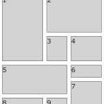 【CSSでタイル】gridレイアウトを使ってみる【簡単コピペ】