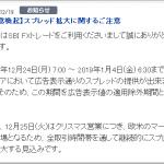 【FX】株価の下落・クリスマス休暇【通算88回目】